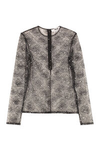 Lace top, Blouses MSGM woman