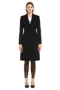 Wool and cashmere coat, Knee Lenght Coats Dolce & Gabbana woman