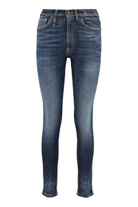 High-rise skinny-fit jeans, Skinny Leg Jeans R13 woman