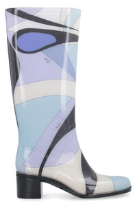 Rubber rain boots, Knee-high Boots Emilio Pucci woman