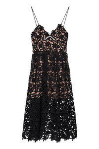 Floral lace midi dress, Midi dresses Self-Portrait woman
