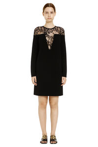 Lace detail knitted dress, Mini dresses Givenchy woman