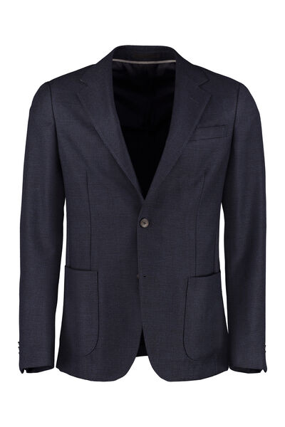 Single-breasted two-button blazer