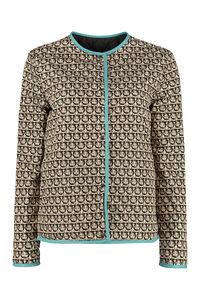 Quilted jacket with snaps, Raincoats And Windbreaker Salvatore Ferragamo woman