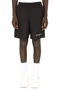 Logo print swimshorts, Swimwear Givenchy man