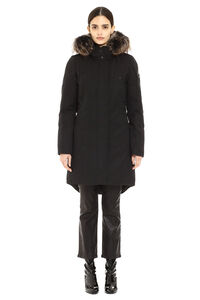 Rabbit Lake technical fabric parka, Down Jackets Moose Knuckles woman