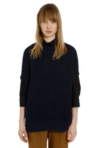 Mach knitted linen top, Oversize sweaters Weekend Max Mara woman