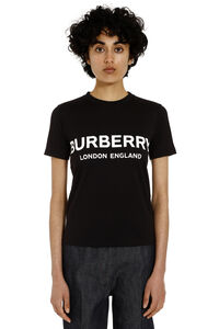 Logo print cotton t-shirt, T-shirts Burberry woman