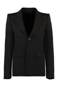 Stretching wool blazer with two buttons, Blazers Balenciaga woman