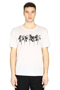 Short sleeve printed cotton T-shirt, Short sleeve t-shirts Saint Laurent man