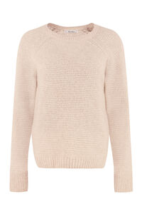 Satrapo cashmere and silk blend pullover, Crew neck sweaters Max Mara woman