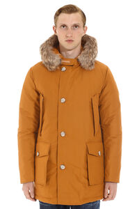 Arctic parka with fur trimmed hood, Parkas Woolrich man