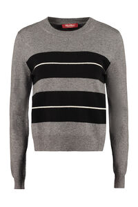Popoli wool and cashmere sweater, Crew neck sweaters Max Mara Studio woman