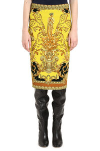 Printed pencil skirt, Pencil skirts Versace woman