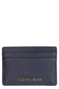 Pebbled calfskin card holder, Wallets MICHAEL MICHAEL KORS woman