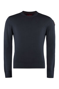 Crew-neck wool sweater, Crew necks sweaters Parajumpers man