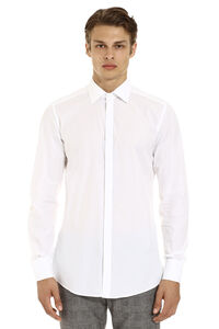 Cotton poplin shirt, Plain Shirts Dolce & Gabbana man