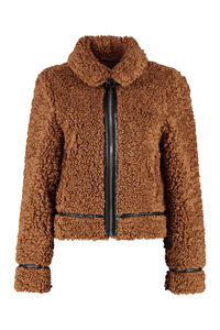 Audrey faux fur jacket, Faux Fur and Shearling Stand Studio woman