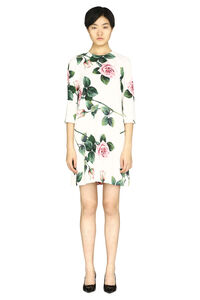 Floral crepe dress, Printed dresses Dolce & Gabbana woman
