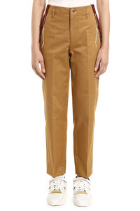 Golden cotton Chino trousers, Tapered pants Golden Goose woman