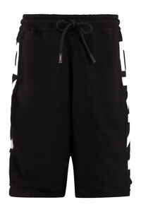 Logo print sweatshorts, Shorts Burberry man