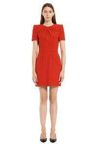 Short sleeves cady dress, Mini dresses Alexander McQueen woman