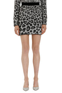 Jacquard knit skirt, Mini skirts Alberta Ferretti woman