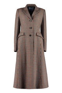 Houndstooth coat, Knee Lenght Coats Prada woman