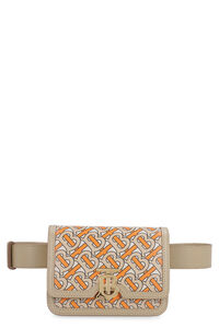 TB printed leather belt bag, Beltbag Burberry woman