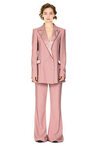 Bianca Suit virgin wool two-piece suit with satin lapels, Suits Hebe Studio woman
