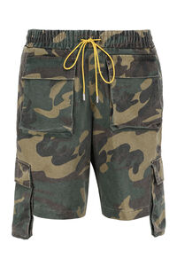 Cotton cargo bermuda shorts, Shorts Rhude man