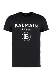 Cotton crew-neck T-shirt, Short sleeve t-shirts Balmain man