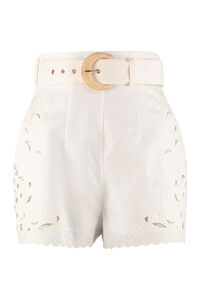 Peggy high waist shorts, Shorts Zimmermann woman