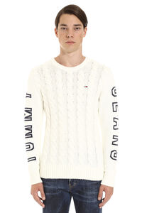 Cable-knit sweater, Crew necks sweaters Tommy Jeans man