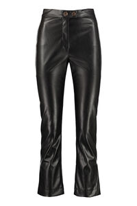 Torrone faux leather trousers, Leather pants Pinko woman