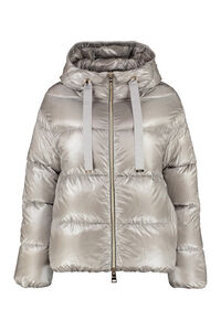 Hooded nylon down jacket, Down Jackets Herno woman