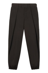 Cotton baggy trousers, Casual trousers Salvatore Ferragamo man