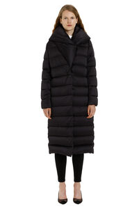 Techno fabric long down jacket, Down Jackets Herno woman