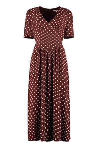 Polka dot print dress, Printed dresses ALEXACHUNG woman