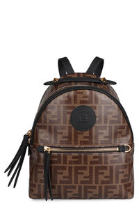 Mini canvas backpack, Backpack Fendi woman