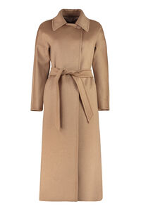 Atrench cashmere-blend coat, Long Lenght Coats Max Mara Studio woman