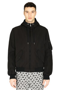Hooded bomber jacket, Bomber jackets Dolce & Gabbana man
