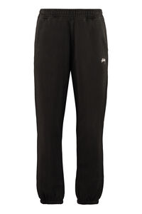 Stretch cotton track-pants, Track Pants Stüssy man