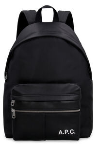 Technical fabric backpack with logo, Backpack A.P.C. man