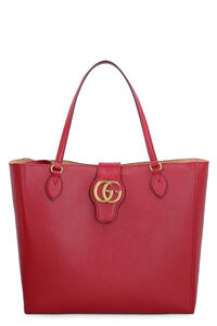 Smooth leather tote bag, Tote bags Gucci woman