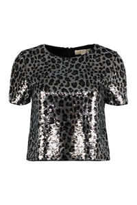 Sequined top, Crop tops MICHAEL MICHAEL KORS woman