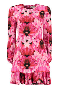Printed silk mini dress, Mini dresses Alexander McQueen woman