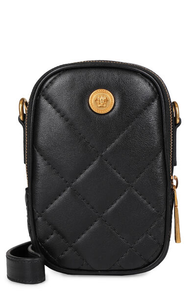 Quilted leather mini-bag