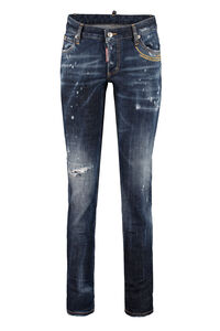 Jennifer worn-out details jeans, Skinny Leg Jeans Dsquared2 woman