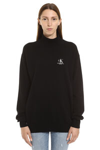 Wool and cachemire turtleneck pullover, Turtleneck sweaters CALVIN KLEIN JEANS EST. 1978 woman